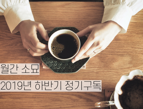 [월간 소묘] 2019년 하반기 정기구독