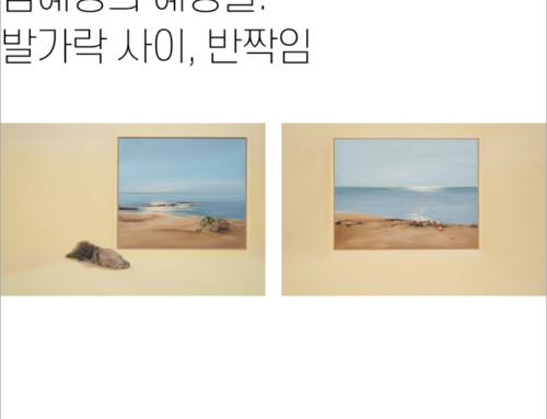 [김혜영의 혜영들] 발가락 사이, 반짝임